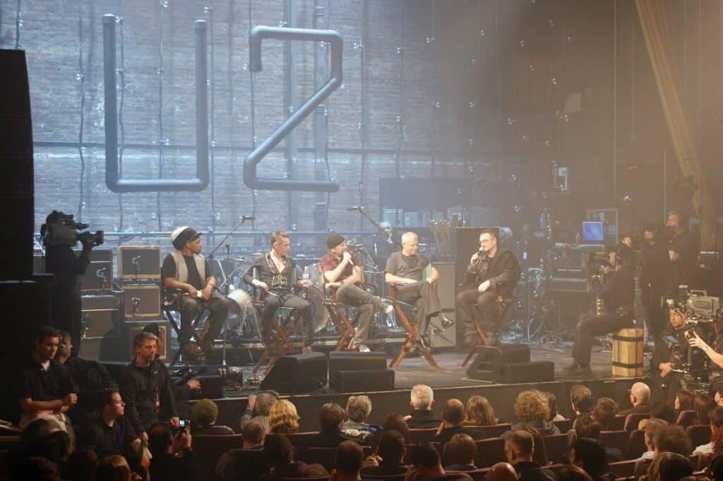 somerville theatre U2 - courtesy of the Somerville Theatre