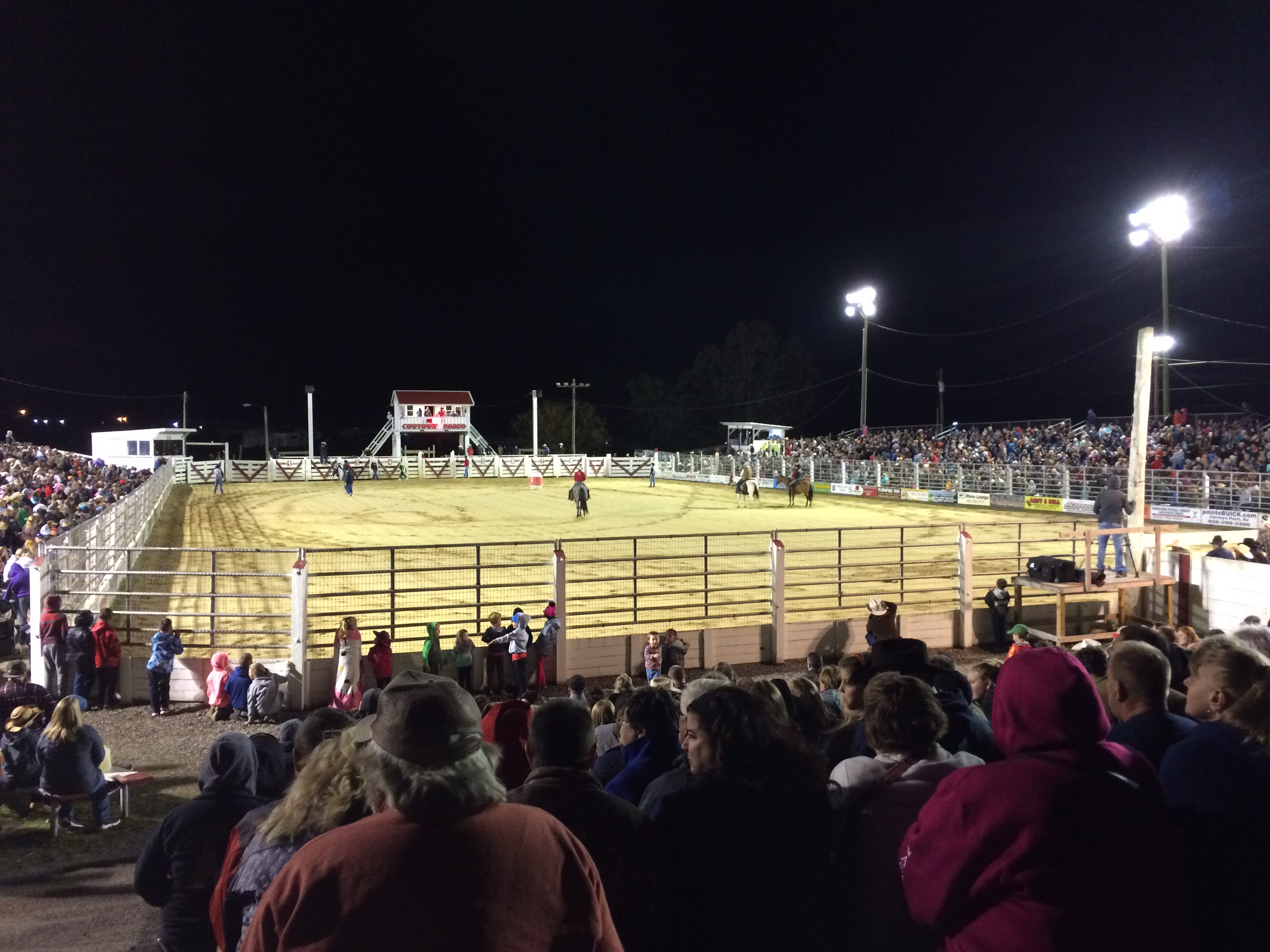 Cowtown Rodeo New Jersey Retro Roadmap
